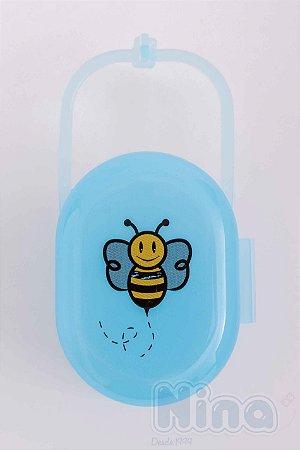Protetor de Chupeta e Bicos de Mamadeiras Azul