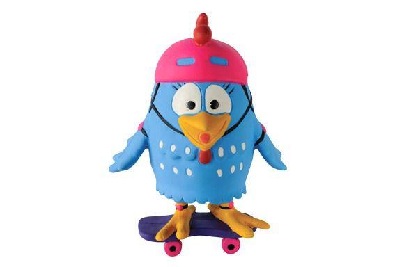 Brinquedo de Latex da Galinha Pintadinha Latoy - Skate