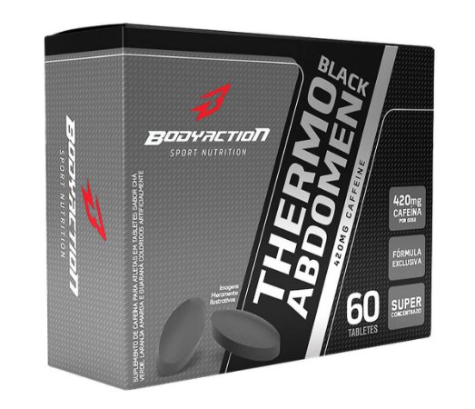 Thermo Abdomen Black Blister Body Action - 60 caps