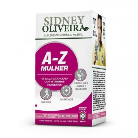 A-Z Mulher Sidney Oliveira - 30 caps