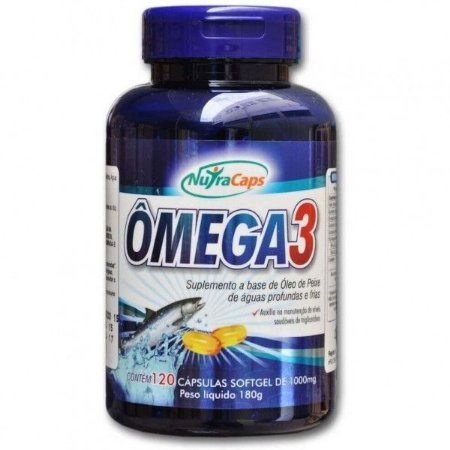 Ômega 3 1000mg NutraCaps - 120 caps