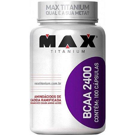 BCAA 2400 Max Titanium - 100 Caps
