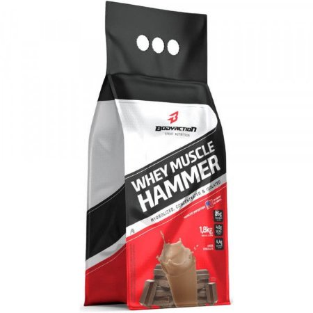 Whey Muscle Hammer Body Action 1,8kg-Chocolate