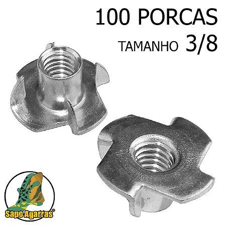 100 PORCA AGARRA 3\8