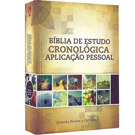 Bíblia Cronológica - Capa Dura