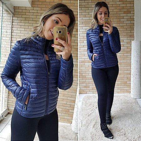 Jaqueta Nylon  com Zíper