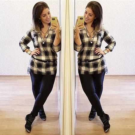 c857e7212608 Chemise Xadrez - Korly - Mundo da Moda Feminina | Compre pelo ...