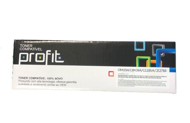 Cartucho de Toner Compatível HP CB435/CB436/CE285  P1005 P1102 P1505 M1120 M1132  2K (Profit)