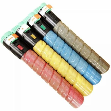 Cartucho de Toner Ricoh MPC 2551 2050 2030 2550  2050 Compatível  Kit 4 Cores