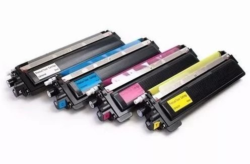Kit Cartucho de Toner Brother TN 210 Compatível (Kit 4 Cores)