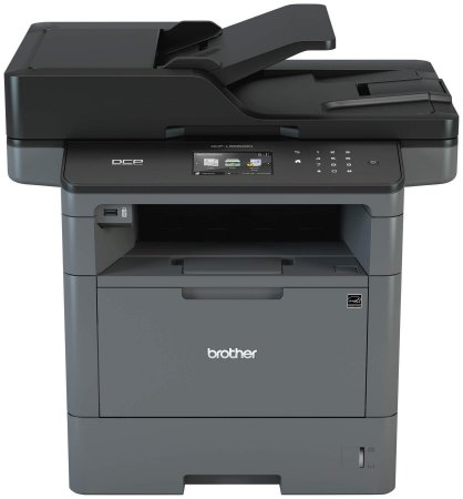 Impressora Brother DCP-L5652DN DCP-L5652 Multifuncional Laser Monocromática com Duplex e Rede