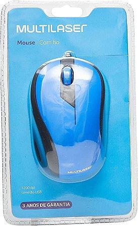 Mouse Multilaser MO226 (azul)