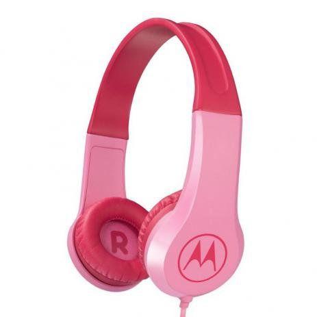 Headphone Motorola Squads 200 Kids Rosa