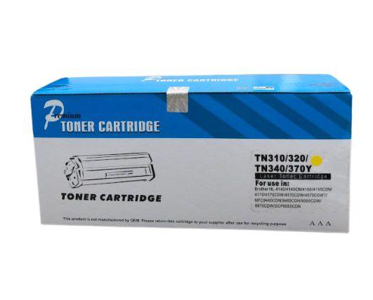 Cartucho de Toner Comp. com Brother TN 310/320/340/370 YELL 1,5K OF .