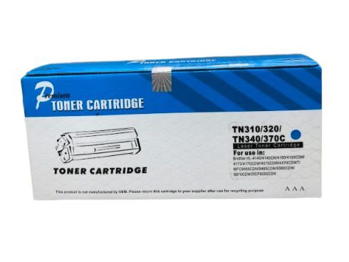 Cartucho de Toner Comp. com Brother TN 310/320/340/370 CYAN 1,5K OF .