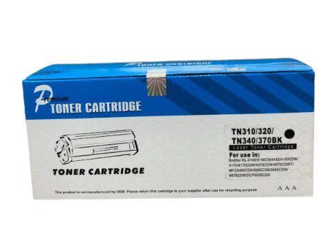 Cartucho de Toner Comp. com Brother TN 310/320/340/370 BK 2,5K OF .