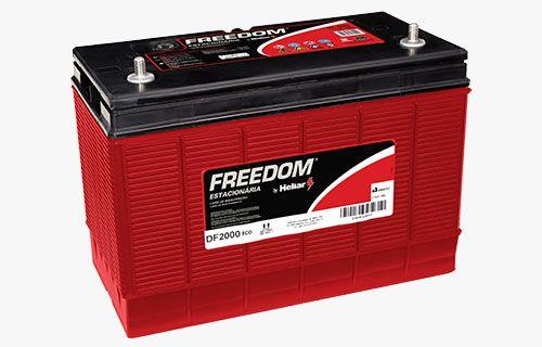 Bateria estacionária FREEDOM 115ah solar eólico