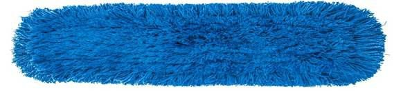 Mop Pó Acrílico Kunber Ponta Cortada Azul 120cm