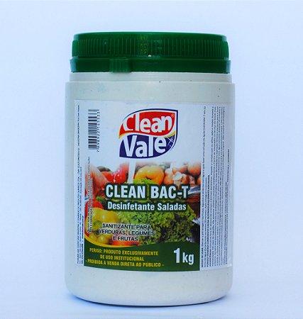 Sanitizante p/ Hortifruti Clean Bac-T 1kg
