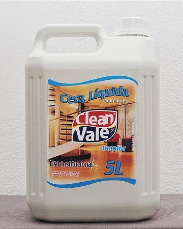 Cera Líquida Incolor - Clean Vale (5L)