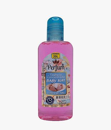 Essência Concentrada Limpa e Perfuma Perfum 140ml Baby Soft