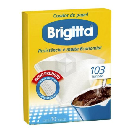 Filtro de Papel Brigitta c/ 30un 103