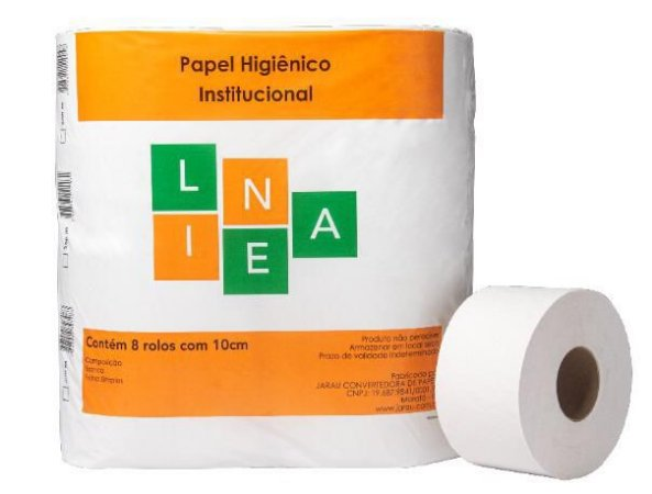 Papel Higiênico Linea Branco 8x10cmx200m