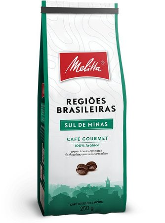 Café Melittta Regiões Brasileiras Sul de Minas 250g