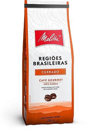 Café Melittta Regiões Brasileiras Cerrado 250g