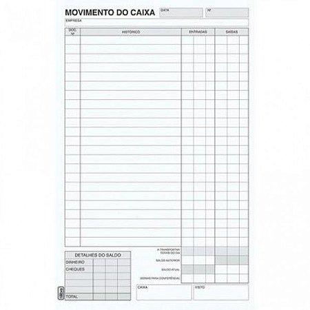 Livro Movimento Caixa São Domingos Ref.:6412-1 c/ 50x2 fls