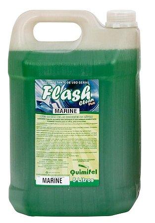 Desinfetante Uso Geral Flash Clean 5L Marine