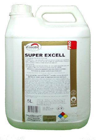 Detergente Alcalino Clorado Super Excell 1:100 5L