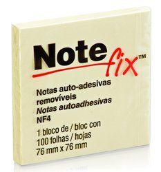 Post-it Recado Adesivo Notefix 76x76mm c/100 Ref.: 654
