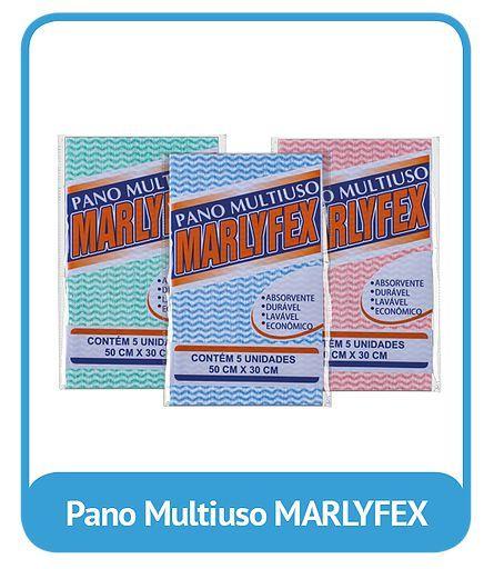 Pano Multiuso Marlyflex 30cmx50cm c/5 Panos