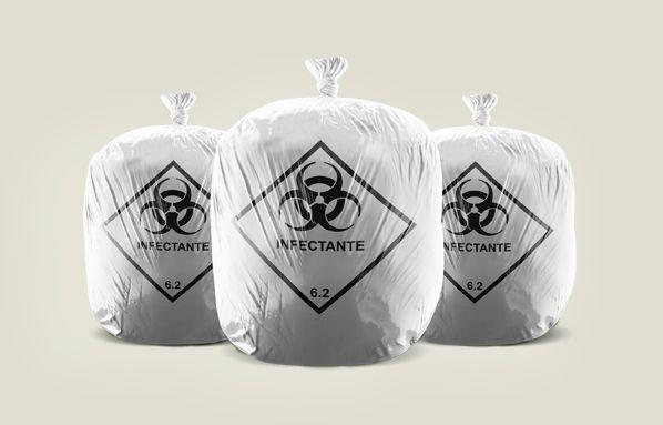 Saco de Lixo Infectante Hospitalar 50L 63X80cm c/100un 0720-0