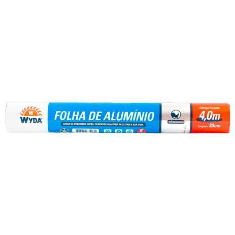 Papel Alumínio Wyda 30cmx4m