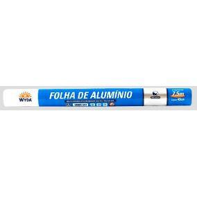 Papel Alumínio Wyda 45cmx7,5m