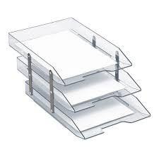 Escaninho Caixa de Correspondência 3 Andares Articulável Cristal