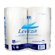 Papel Higiênico Leveza Extra Luxo 100% Cel. 8x300m