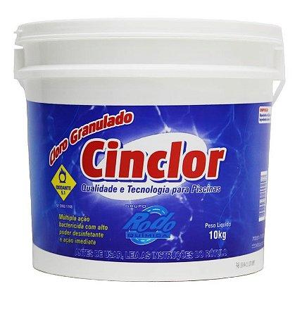 Cloro Granulado Cinclor 10 em 1 10kg