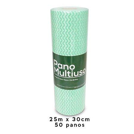 Pano Multiuso Nobre Slim 30cm x 25m