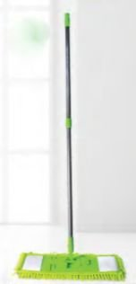 Conjunto Mop Pó Microfibra 40cm c/ cabo Slim Nobre Ref.:LJC-019