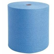 Pano Multiuso Picotado 28cm x 300m Cores: Azul