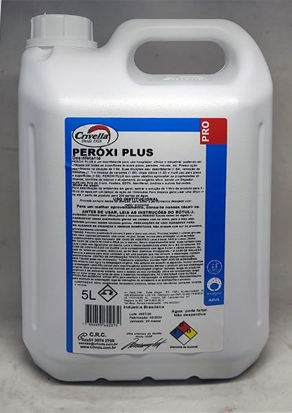 Desinfetante Multiuso Peroxi Plus Hospitalar 5L