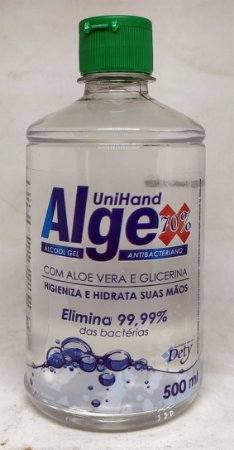 Álcool Gel Unihand Algex 70º 500ml