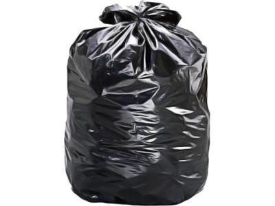 Saco para Lixo Preto 60L