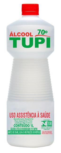 Álcool Líquido Hospitalar Tupi 70º 1L