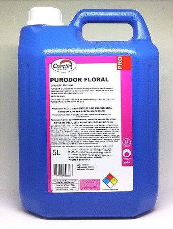 Desinfetante Limpador Multiuso Concentrado Purodor 5L