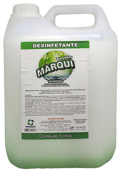 Desinfetante Uso Geral Marqui 5L Eucalipto