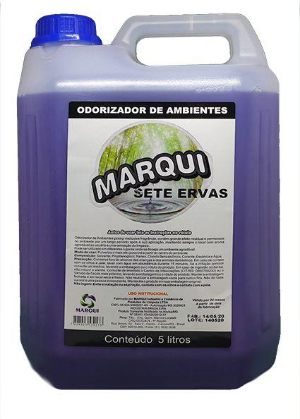 Aromatizante de Ambientes Marqui Sete Ervas 5L